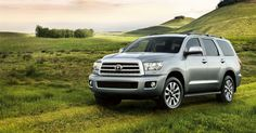 Toyota Sequoia...after driving one of these all over town last night I now want one of these really bad