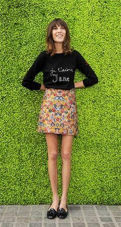 Alexa Chung. Cutest girl in the world.