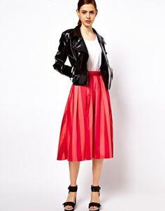 #asos                     #Skirt                    #ASOS #Midi #Skirt #Bold #Stripe #asos.com          ASOS Midi Skirt In Bold Stripe at asos.com                                    http://www.seapai.com/product.aspx?PID=1312831