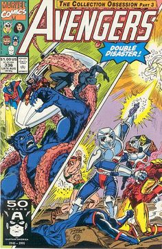 Avengers # 336 by Ron Lim & Tom Palmer