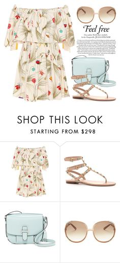 """""""New Dress 2944"""" by boxthoughts ❤ liked on Polyvore featuring Fendi, Valentino, MICHAEL Michael Kors and Chloé"""