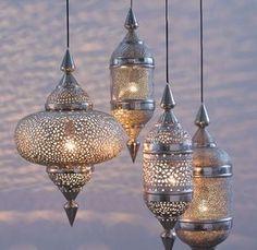 Gorgeous Morrocan lights....