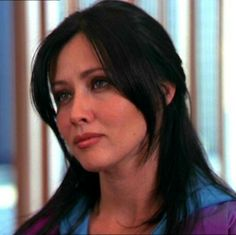 Shannen Doherty in a scene from 'Charmed'