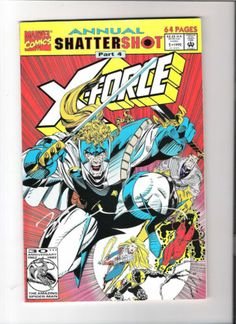 X-FORCE (v1) ANNUAL #1 Signed by Bill Sienkiewicz! NM http://r.ebay.com/3iNo9X