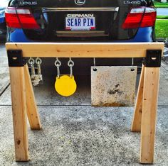 Target Stand Shooting Targets, Shooting Guns, Shooting Sports, Outdoor Shooting Range, Shooting Bench, Welding Projects, Wood Projects, Steel Target Stands, Pistol Targets