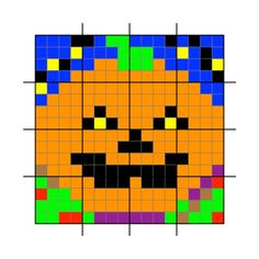 Pixel Puzzle Pictures and Computational Thinking | Teaching London Computing: A RESOURCE HUB from CAS LONDON & CS4FN Computational Thinking, Color By Numbers, Simple Colors, Cas, Puzzle, London, Teaching, Pictures, Photos