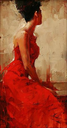 Waiting by Andre Kohn - Greenhouse Gallery of Fine Art