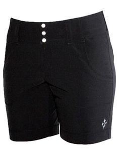 JoFit Belted Golf Short - Black