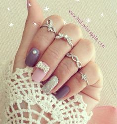 love the rings, love the mani
