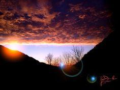 Mare di nuvole rovesciato in Valle Cervo