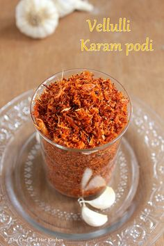 A typical south Indian meal is incomplete without a Podi (spicy powder).We prepare various podi varieties ,while few are paired with br. Fried Fish Recipes, Veg Recipes, Vegetarian Recipes, Cooking Recipes, Recipies, Paneer Recipes, Garlic Recipes, Curry Recipes, Masala Powder Recipe
