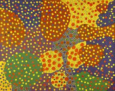 archivecollectingthenew Yayoi Kusama, Untitled, 1967, oil on canvas