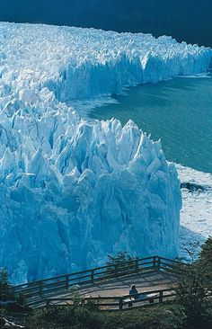 """GLACIAR """"PERITO MORENO""""...ARGENTINA."""