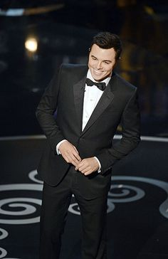 Seth MacFarlane. Who knew that behind the characters of Family Guy was a total stud?