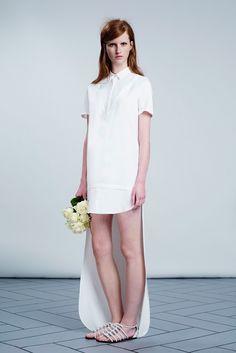 viktor & rolf bridal collection SS14 // shirt dress