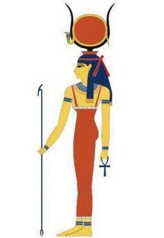 Hathor - Deusa das mulheres, amor, alegria, céu, dança e vinho