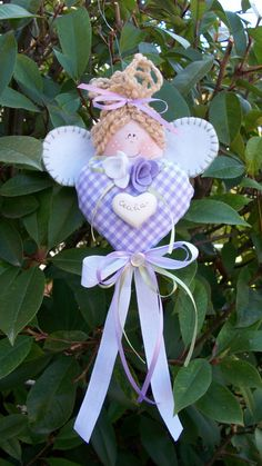 Fairy, Baby Shower, Dolls, Christmas Ornaments, Purple, Holiday Decor, Hobby, Inspiration, Angeles