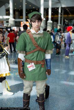 Link cosplay   Photo by David Ngo (DTJAAAAM)  at Anime Expo 2013