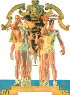 J. C. Leyendecker Cover Art Modified | The Happy Rower | Flickr
