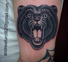 Traditional bear head