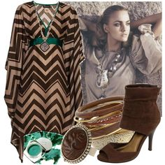 african style trends | fashion look from January 2010 featuring Antik Batik dresses, Miss ...