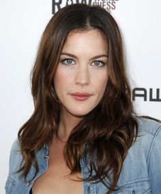 View yourself with Liv Tyler hairstyles and hair colors. View styling steps and see which Liv Tyler hairstyles suit you best. Brown Hair Blue Eyes Pale Skin, Hair Color For Warm Skin Tones, Warm Brown Hair, Brunette Blue Eyes, Hair Color For Fair Skin, Brown Hair Colors, Dark Brown, Brunette Hair Pale Skin, Dark Auburn Hair