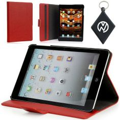 Apple iPad Mini 7.9 Inch Epi Leather like Wallet Case Ultra Slim Cover with Sleepmode, Kickstand. Color: Red + NuVur ™ Keychain by Kroo. $15.99. What better way to protect your brand new device than this form fit wallet with shell case that turns into stand. Keep your brand new iPad Mini protected while making it look stylish and unique with this one of a kind case.