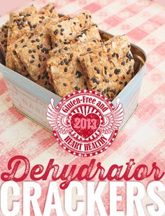 Heart-Healthy Crackers - Lexie's Kitchen | Gluten-Free Dairy-Free Egg-Free -
