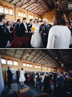A Quirky Industrial Museum Wedding