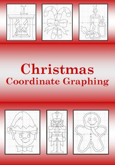 Celebrate Christmas with these Coordinate Graphing Activities