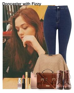 """""""Doncaster with Fizzy"""" by diirectiioner69 ❤ liked on Polyvore featuring Topshop, Mura, Ralph Lauren Blue Label, Carvela Kurt Geiger, Liz Claiborne, Yves Saint Laurent and NARS Cosmetics"""