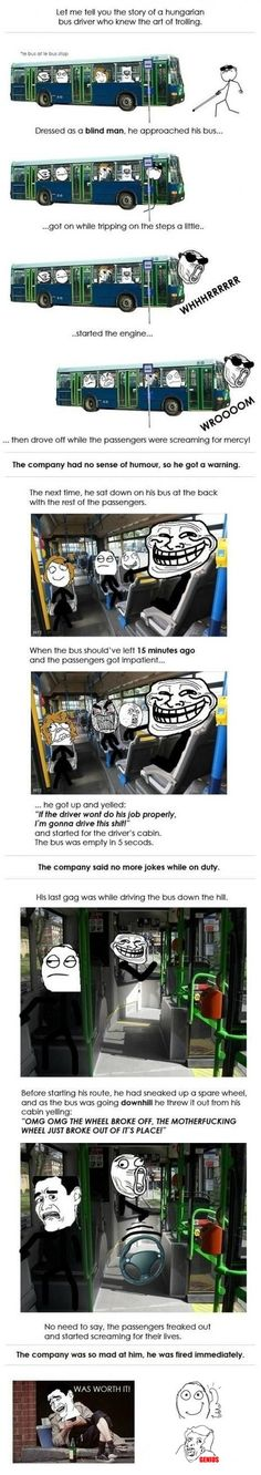 Busfahrertroll - was worth it!