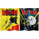 Found it at Wayfair - Tall Double Sided Batman and Robin Canvas Room Divider