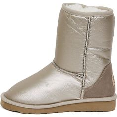 New Shiny Waterproof Shearling Womens Winter Snow Warm Boots Shoes Beige ** You can find more details by visiting the image link. (This is an affiliate link) Ugg Boots, Shoe Boots, Warm Boots, Snow Boots Women, Outdoor Woman, Winter Shoes, Uggs, Shoes Sneakers, Beige