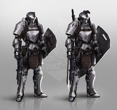 Tactical Knight, Johnson Ting on ArtStation at https://www.artstation.com/artwork/Gm60a
