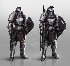 ArtStation - Tactical Knight, Johnson Ting