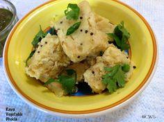 Cookingwithsapana: Rava Vegetable Dhokla