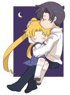 Usagi and Mamoru 美少女戰士