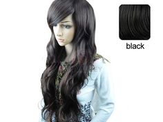 Long Wig Hair Curl full Wigs black Fashion Long Mix Curly Wavy Women's Wig/Wigs
