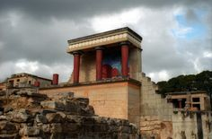 palace at Knossos on Crete