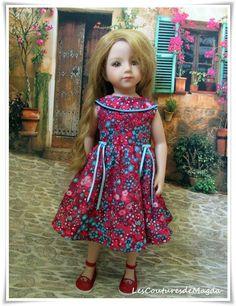 Maru and Friends, GOTZ, Kids N Catz poupée doll : robe