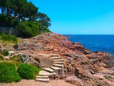 Sentier du littoral - var saint raphael frejus