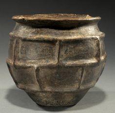 Villanovan impasto ware pottery bowl