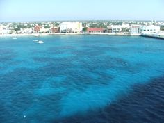 Downtown shopping at Cozumel. Taken from our Cruise ship the Disney Magic!