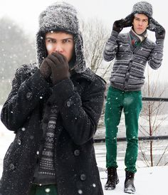 Winter is a great time to step up your personal style. Enjoy our collection of men's winter outfits to help you stay stylish while out in the snow. New Fashion, Winter Fashion, Fashion Ideas, Fashion Design, Winter Outfits Men, Sartorialist, Outfits With Hats, Urban