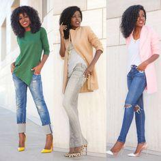 Looks para Mulheres Negras | Irmãs Reis