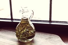 Rosemary Infused Olive Oil! #recipe #food