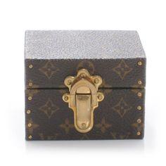 Monogram Ring Box Mini Trunk Case