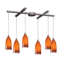View the Elk Lighting 502-6 Art Deco / Retro Island / Billiard Fixture from the Verona Collection at LightingDirect.com.
