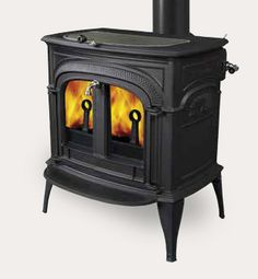 Intrepid II Wood Burning Stoves by Vermont Castings.  Available at Higgins Energy Alternatives in Barre, MA.